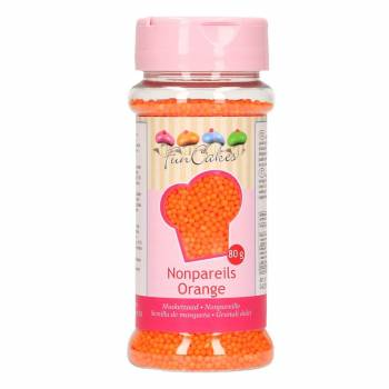 Mini perles funcakes orange 80gr