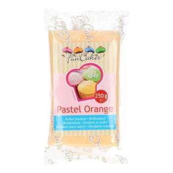 Pâte à sucre Funcakes orange pastel