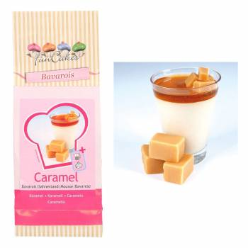 Mix bavarois caramel