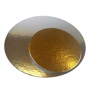 3 Semelles Or/argent ronde