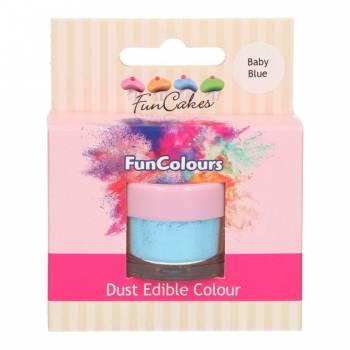 Colorant en poudre Funcakes bleu bébé