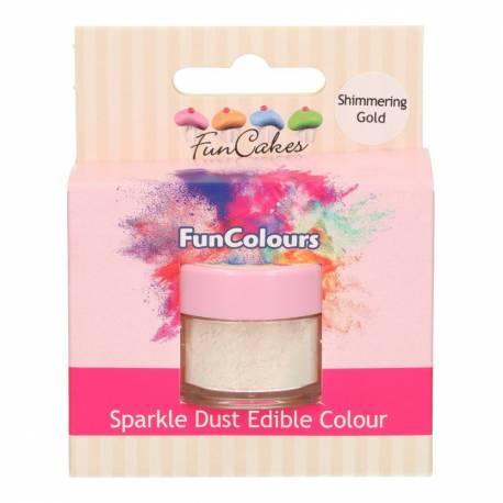 Les paillettes alimentaires Sparkle Dust de FunCakes se présentent sous forme d'une poudre de couleur 100 % comestible, idéale à...