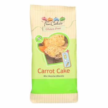 Mix gâteau aux carottes sans gluten Funcakes 500g