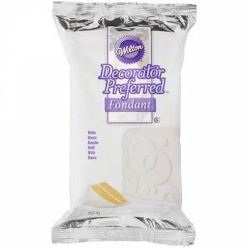 Pâte à sucre Wilton blanche 500 gr