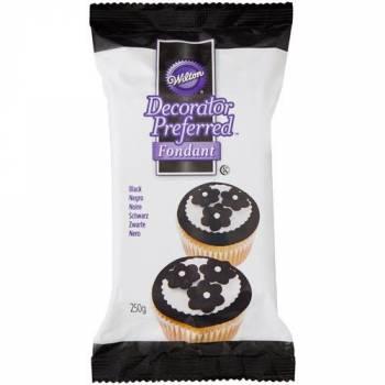 Pâte à sucre Wilton noire 250gr