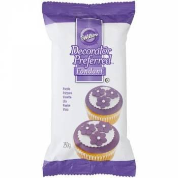 Pâte à sucre Wilton violette 250gr