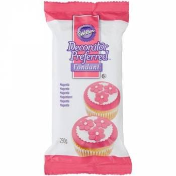 Pâte à sucre Wilton rose 250gr