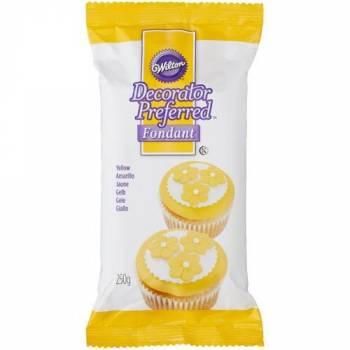 Pâte à sucre Wilton jaune 250gr