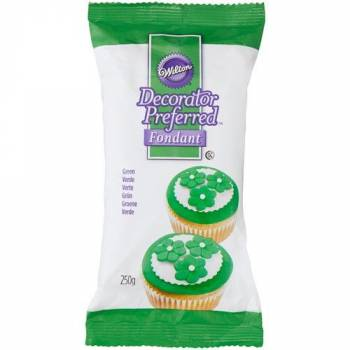 Pâte à sucre Wilton verte 250gr