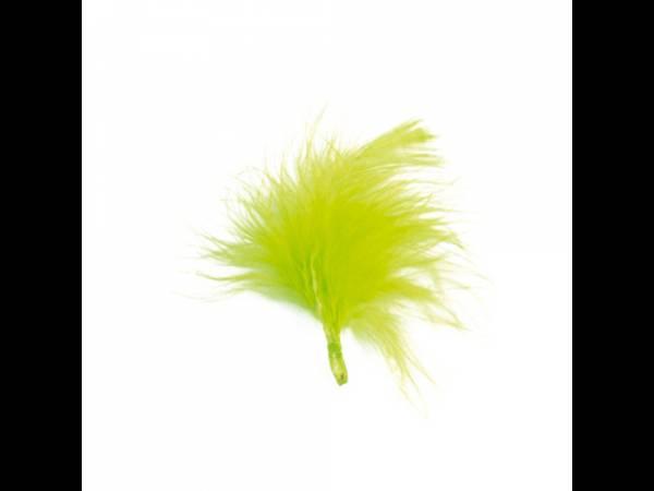 plumes de couleur verte anis