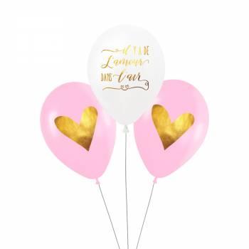 3 Ballons Amour