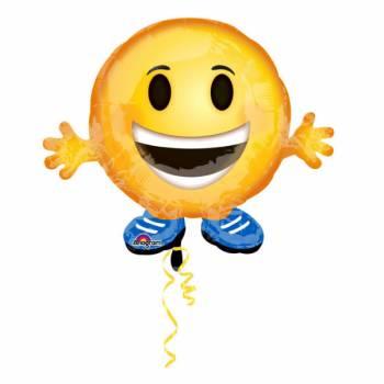 Ballon hélium émoticon Buddy