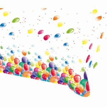 Nappe en plastique Ballons