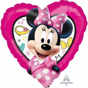 Ballon hellium coeur Minnie