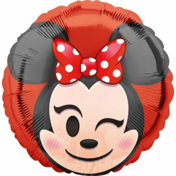 Ballon hellium Minnie emoticon