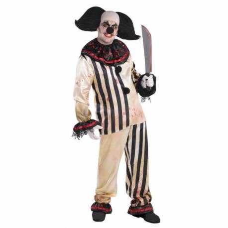 Nezde clown noir pour accessoiriser un déguisement de clown effrayant