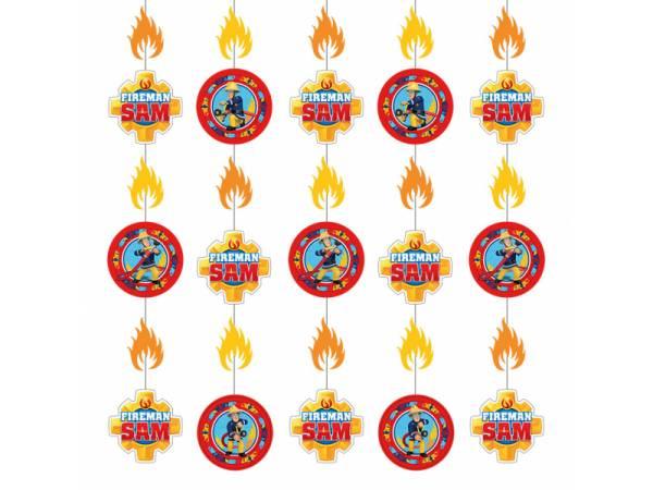 Suspension fil sam le pompier deco anniversaire - Decoration anniversaire sam le pompier ...