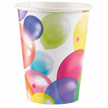 8 Gobelets Ballons