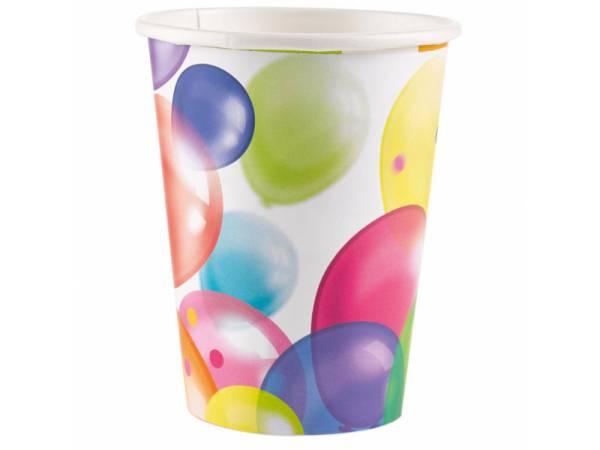 Gobelets Ballons- deco anniversaire