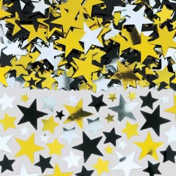 Confettis étoiles hollywood
