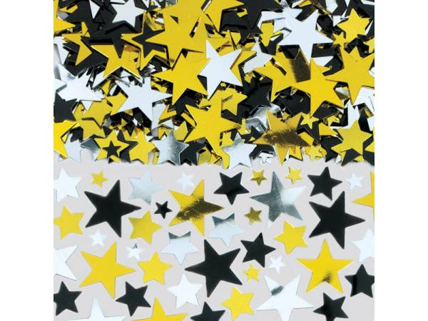 confettis etoiles hollywood deco anniversaire theme cinema