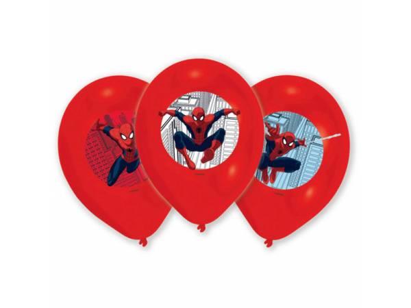 deco anniversaire ballons latex h lium th me spiderman quadri. Black Bedroom Furniture Sets. Home Design Ideas