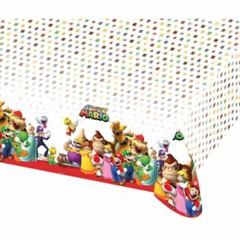 Nappe plastique Mario Bros
