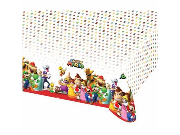 Nappe plastique Mario Bros- deco anniversaire