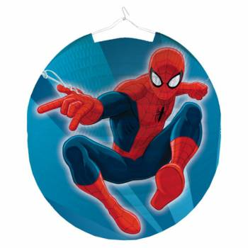 Lampion rond Spiderman