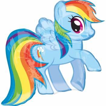 Ballon géant Mon petit poney rainbow
