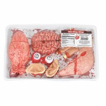 Barquette de viande humaine