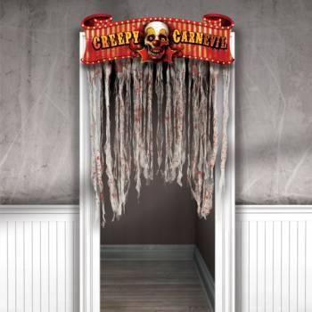 Banderole de porte Carnaval effrayant