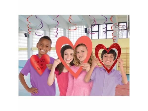 accessoires photobooth coeur