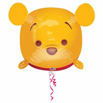 Ballon hélium Winnie geek