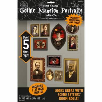 Décors muraux halloween Portrait de famille morbide