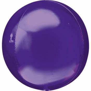 Ballon bulle violet