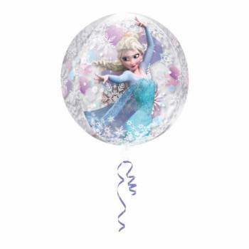 Ballon transparent La Reine des Neiges