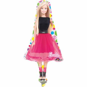 Mini ballon Barbie Pop