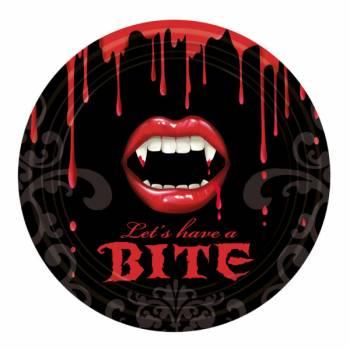 8 Assiettes Vampire