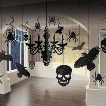 Kit décors murs et plafond Gothique