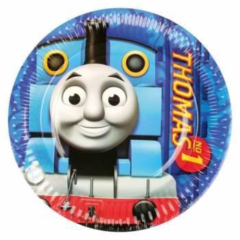 8 Assiettes Thomas et ses amis