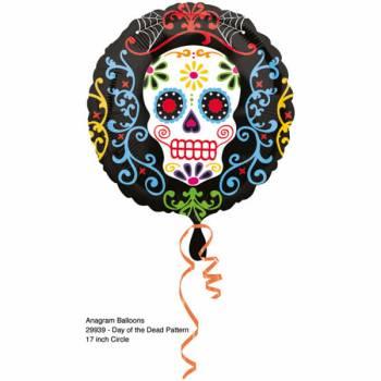 Ballon aluminium Santa Muerte
