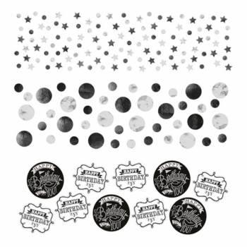 Confettis de table Happy Birthday ardoise