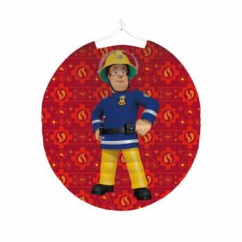 Lampion rond Sam le pompier