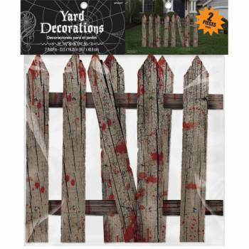 2 Lots de clôtures sanglantes