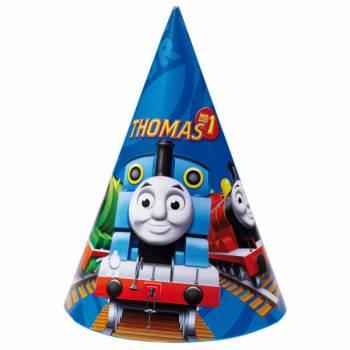 6 Chapeaux de fête Thomas et ses amis