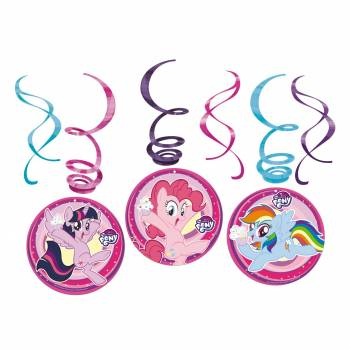 Assortiment 6 suspensions Mon Petit Poney