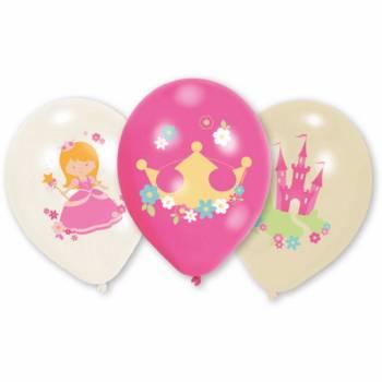 6 ballons quadri My princesse