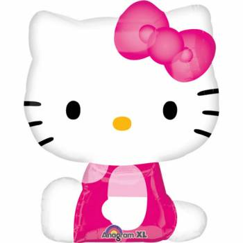 Ballon alu Hello Kitty