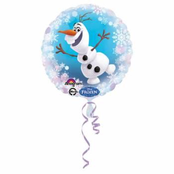 Ballon aluminium Olaf